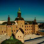 Vadstena Slott i snö