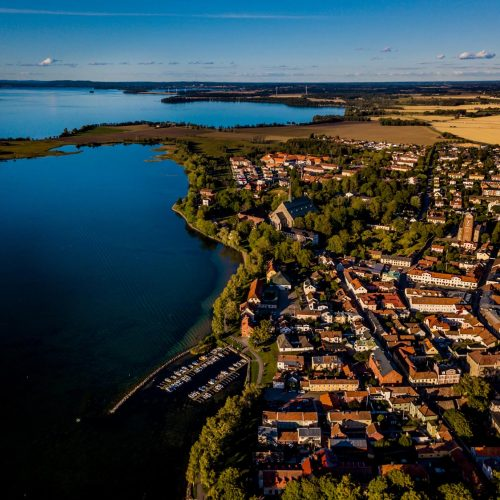 Flygfoto Vadstena